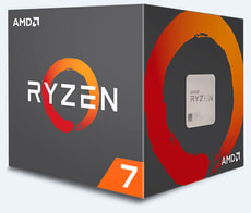 Processore Ryzen 7 1800X 8x 3.6 GHz AM4 boxed