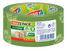 tesapack® eco & strong printed 66m:50mm vert