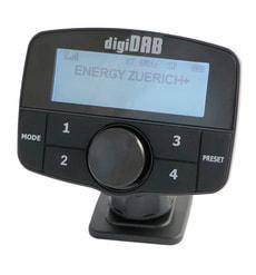 DAB+ Empfangsgerät ZÜRICH Wireless