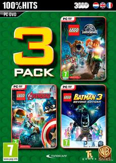 PC - Lego Box - Jurassic World + Marvel Avengers + Batman 3