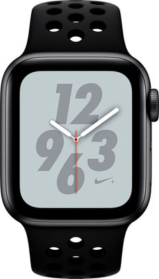 Watch Nike+ 40mm GPS space gray Aluminum Anthracite Black Nike Sport Band
