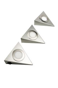 Luminaire LED sous meuble, Set de 3 pièces