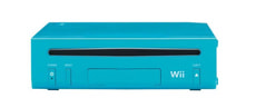 Wii Blue light inkl. Mario + Sonic Olympic Games London 2012