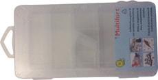 Boîte de rangements M, transparente