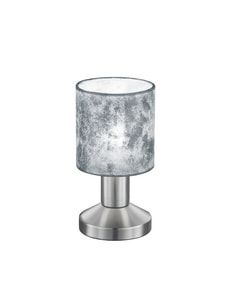 Lampe de table touch Garda, argent