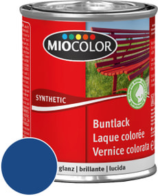 Synthetic Buntlack glanz Enzianblau 125 ml