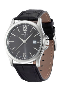 CLASSIC schwarz Armbanduhr