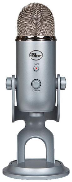 Yeti Microphone Silver USB