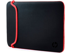 Sleeve Chroma Reversible 13,3'' schwarz / rot