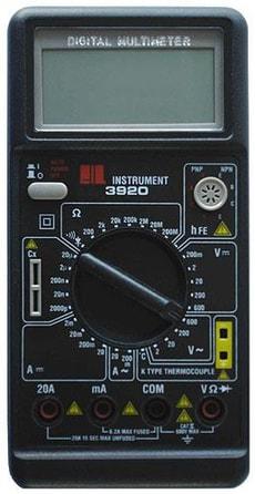 MULTIMÈTRE DIGITAL CM3920-1 LCD