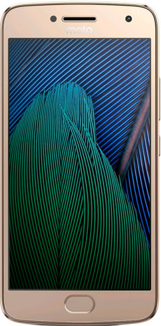 Moto G5s Plus Dual SIM 32GB gold