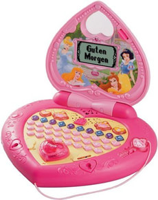 DISNEY PRINZESSINNEN LAPTOP