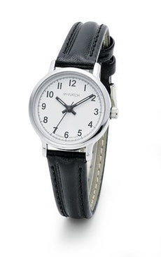 L-Watch DAILY TIME schwarz Armbanduhr