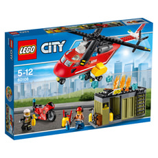 LEGO City Unità di risposta antincendio 60108