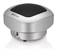 L- A Trekstor Portable SoundBox silver