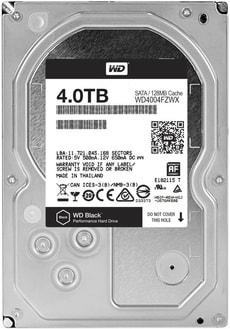 "Black Performance Desktop disco rigido interno 4TB 3.5"""