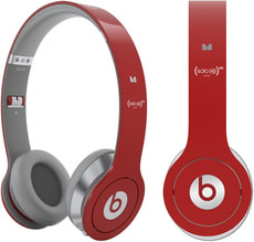 L-A Beats Solo HD Red