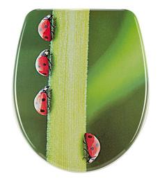WC-Sitz Nice Ladybug Slow Motion