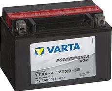 Motorradbatterie YTX9-BS 12V 8Ah 80A