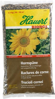 Biorga Hornspäne, 2.5 kg