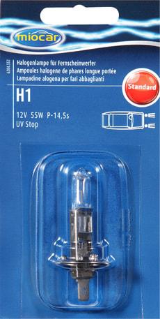 Ampoule halogène H1