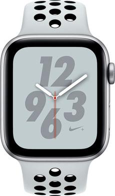 Watch Nike+ 44mm GPS silver Aluminum Pure Platinum Nike Sport Band