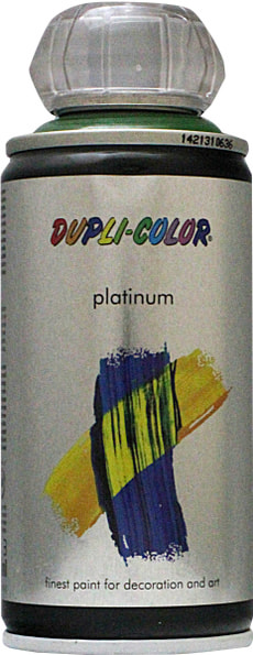 Peinture en aérosol Platinum brillante