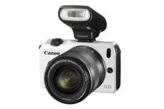 EOS M, 18-55mm weiss Systemkamera