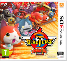 3DS - Yo-Kai Watch Blasters - Peloton du Chat Rouge (F)