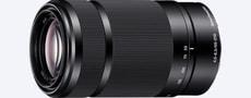 55-210mm / 4.5-6.3 OSS SEL-55210 Zoom-Objektiv nero (SEL55210B.AE)