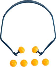 Inserti auricolari multiuso ad archetto, con 4 tappi di ricambio