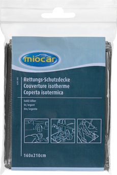 Couverture isotherme 160x210 cm