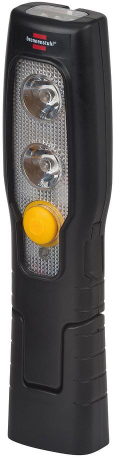 2 + 3 lampe de poche rechargeable à LED pliable, avec aimant et crochet