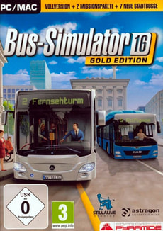 PC - Pyramide: Bus-Simulator 16 Gold-Edition (D)
