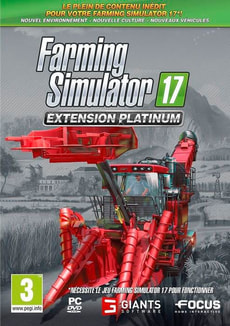 PC - Farming Simulator 2017 - Extension Platinium F