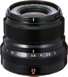 Fujinon XF 23mm F2 R WR noir