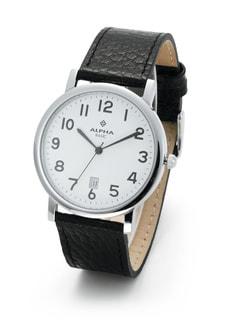 OFTEN silber Armbanduhr