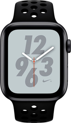 Watch Nike+ 44mm GPS+Cellular space gray Aluminum Anthracite Black Nike Sport Band