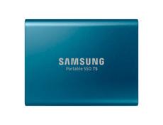 SSD T5 portable 250GB blau
