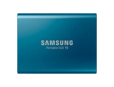 SSD T5 portable 500GB blue