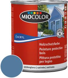 Holzschutzfarbe Taubenblau 750 ml