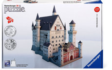 W14 RVB PUZZLE 3D SCHLOSS NEUSCHWANSTEIN