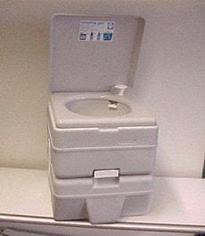 WC de camping grand