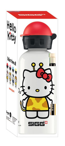 Hello Kitty Giraff Trinkflasche