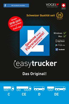 trucker 2018/19 Theorieprüf. f. Lastwagen [Kat. C/CE+D/DE] [PC/Mac] (D/F/I)