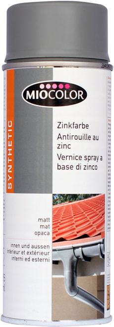 Spray zinc 600 °C