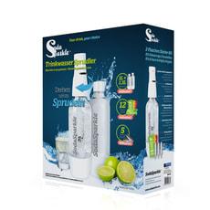Soda Sparkle Twin Starter Pack Trinkwasser Sprudler