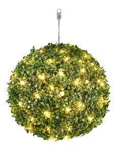 Boule de buis LED lumière, Ø 30 cm