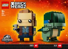 Lego Brickheadz Owen und Blue 41614