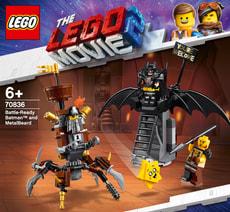 LEGO MOVIE 2 70836 Batman + Eisenbart